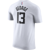 Camiseta Nike Paul George Clippers City Edition Masculina