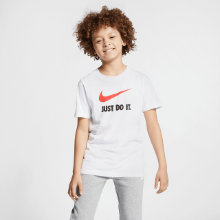 "Camiseta Nike Sportswear ""Just Do It"" Swoosh Infantil - Cód. 191888138753"