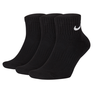 Meia Nike Everyday Cushion Quarter (3 pares) - Cód. 888407234316