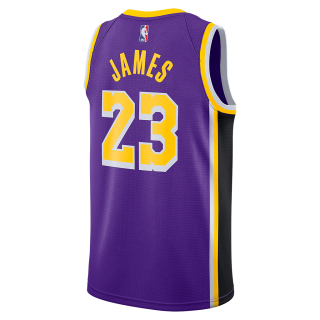 Regata Nike Los Angeles Lakers Statement Edition Swingman Masculina (LeBron James) - Cód. 888407570964
