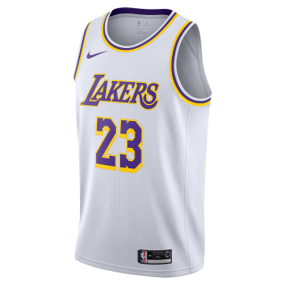Regata Nike Los Angeles Lakers Association Edition Swingman Masculina - Cód. 191885864624