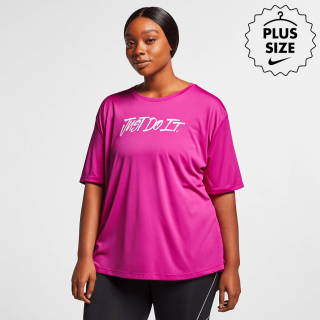 "Plus size - Camiseta Nike ""Just Do it"" Feminina - Cód. 192499927507"