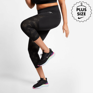 Plus size - Legging Nike Air Crop Feminina - Cód. 192501741695
