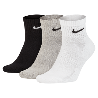 Meia Nike Everyday Cushion Quarter (3 pares) - Cód. 888407236396