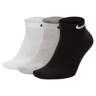 Meia Nike Everyday Cushion Cano Baixo (3 pares) - Cód. 888407237164