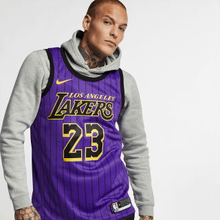 Regata Nike Los Angeles Lakers City Edition Swingman Masculina - Cód. 886060301222