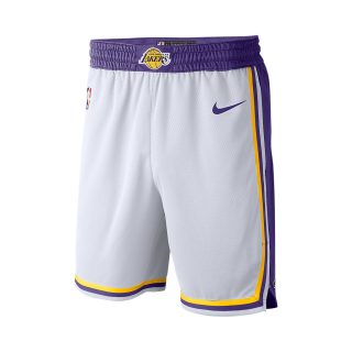 Shorts Nike Los Angeles Lakers Association Edition Swingman Masculino - Cód. 886066048619