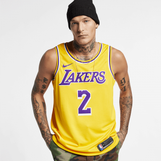 Regata Nike Los Angeles Lakers Swingman Icon Edition Masculina - Cód. 886061165922