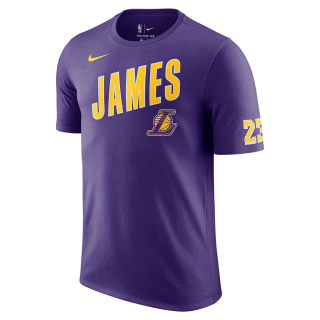 Camiseta Nike Los Angeles Lakers Masculina - Cód. 192502217496