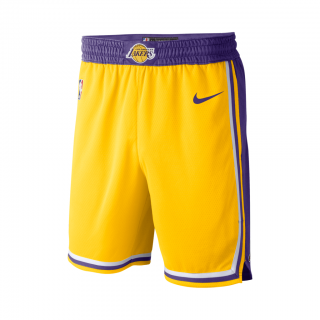 Shorts Nike Los Angeles Lakers Icon Edition Swingman Masculino - Cód. 886066056133