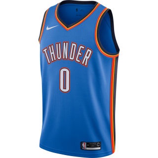 Regata Nike Russell Westbrook Icon Edition Swingman (Oklahoma City Thunder) Masculina - Cód. 193145699809