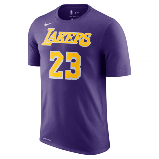 Camiseta LeBron James Los Angeles Lakers Nike Dri-FIT Masculina - Cód. 193146499507