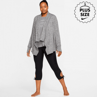 Plus Size - Jaqueta Nike Yoga Collection Feminina - Cód. 192502505869