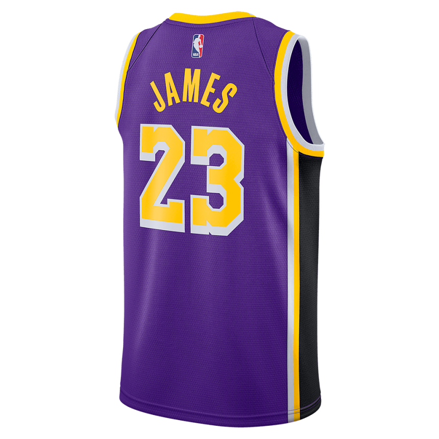 Regata Nike Los Angeles Lakers Statement Edition Swingman Masculina (LeBron James)