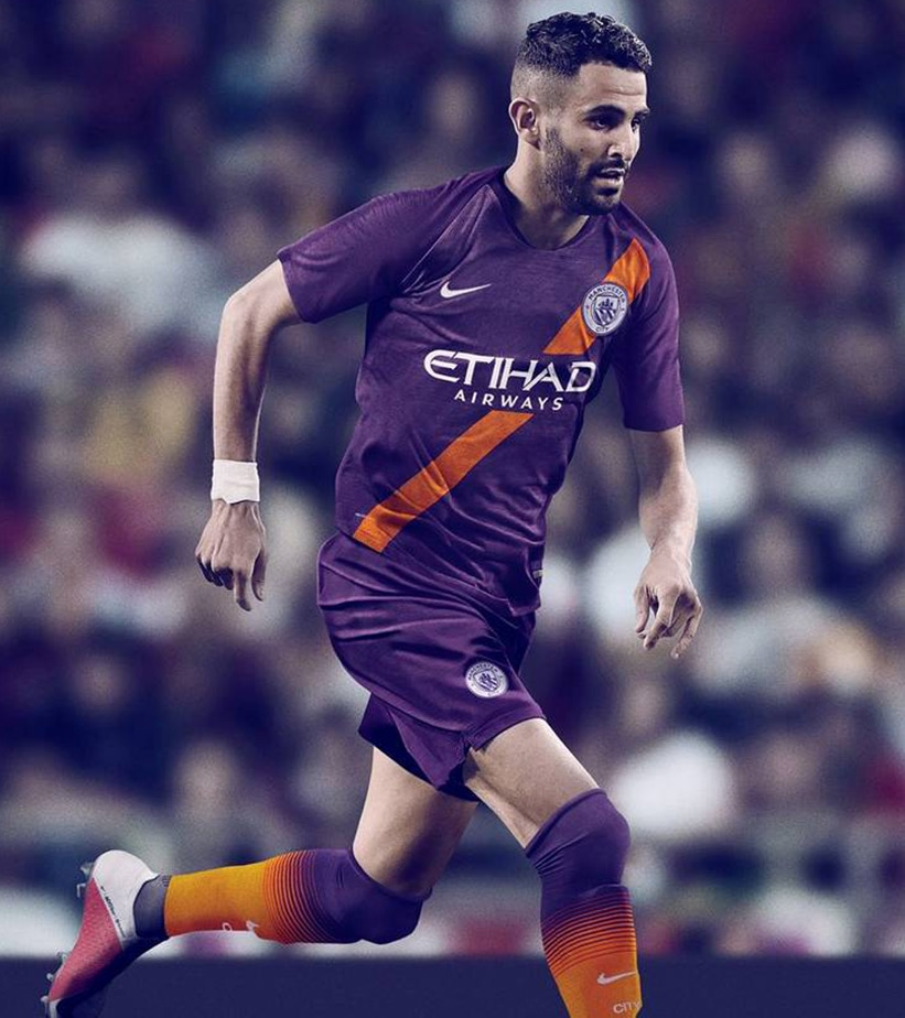 CAMISA NIKE MANCHESTER CITY III 2018/19
