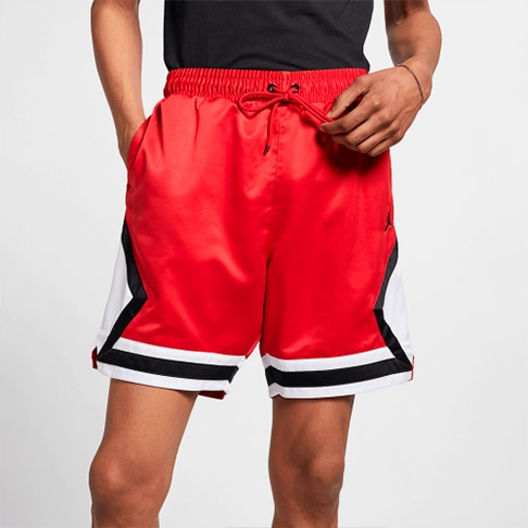 Shorts Jordan Satin Diamond